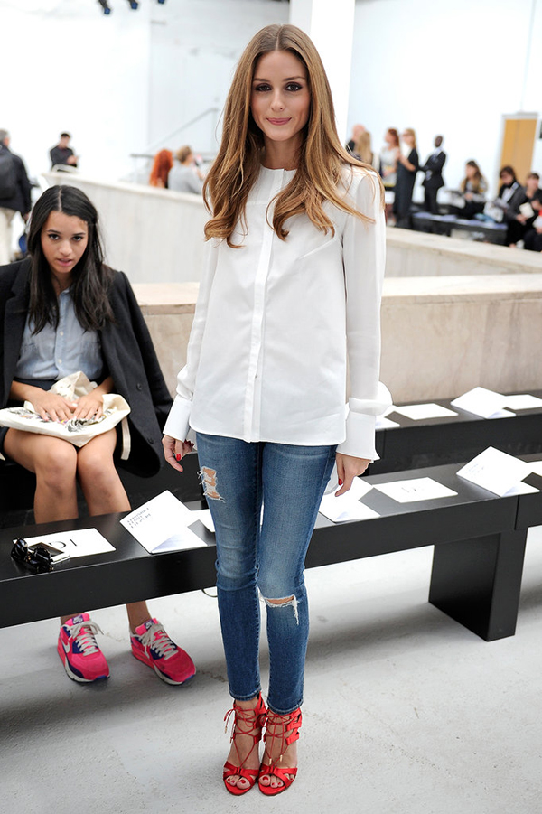NECK SHIRT olivia palermo