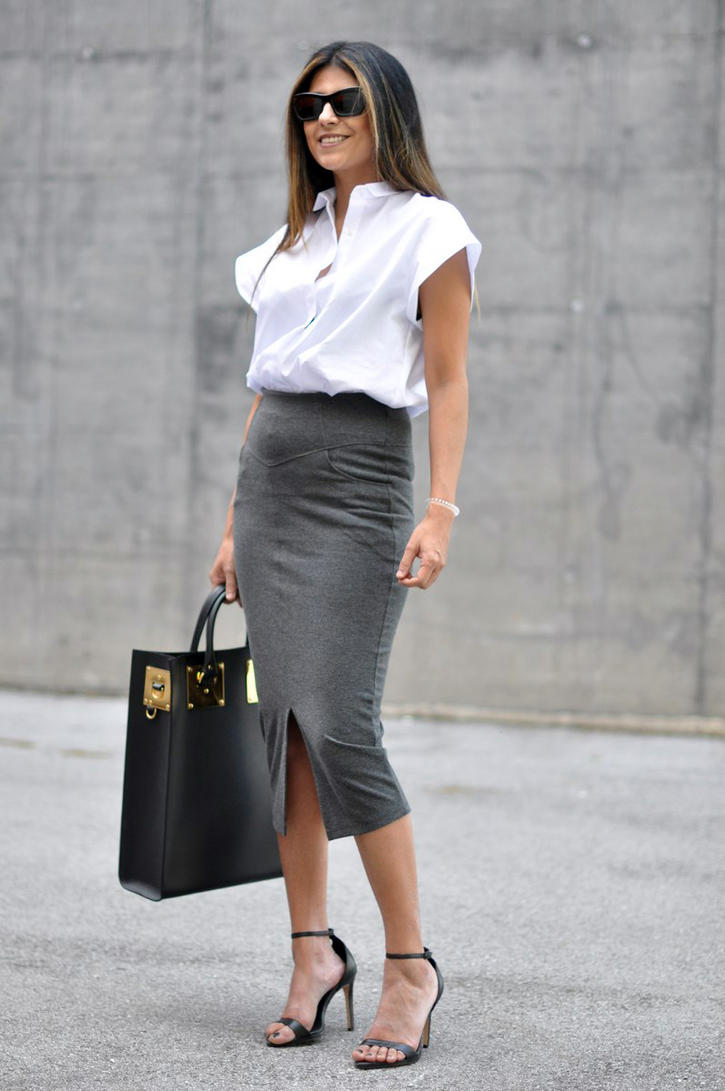 Pencil-Skirt-For-Work