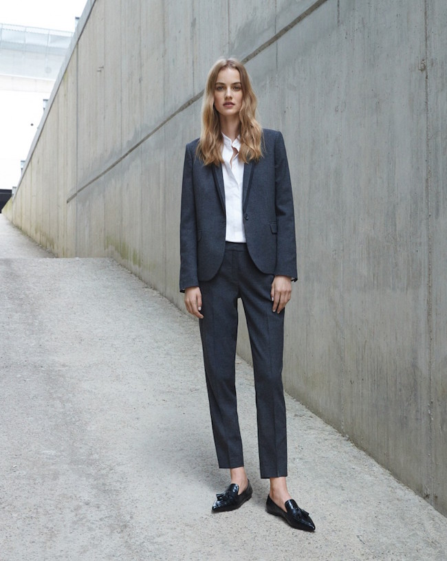 elegant suit for office from Mango