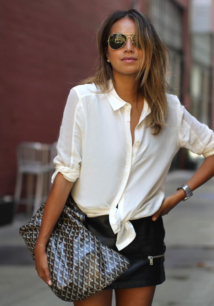knotted-white-blouse
