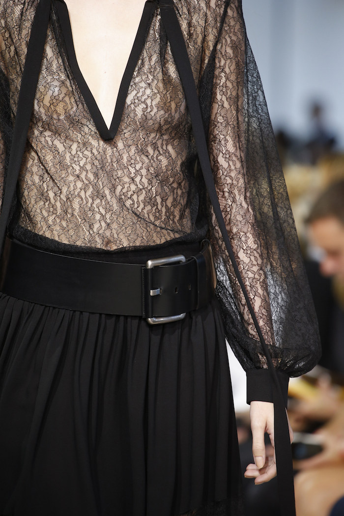 Black dress Michael Kors details