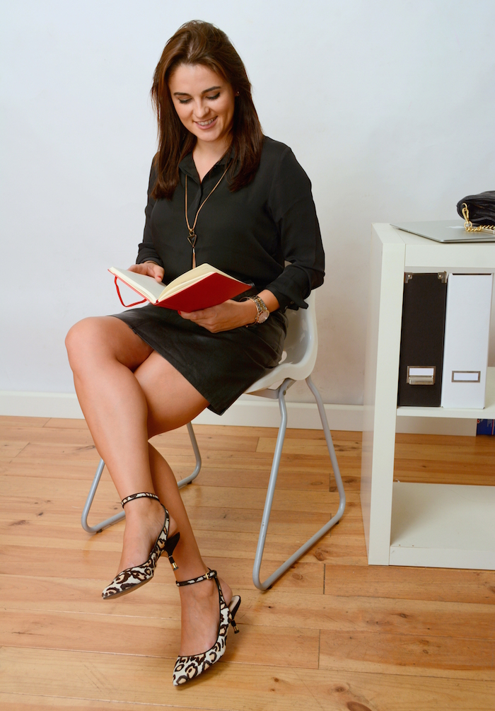 Leather Skirt To The Office - Yes You Can! - Style Advisor