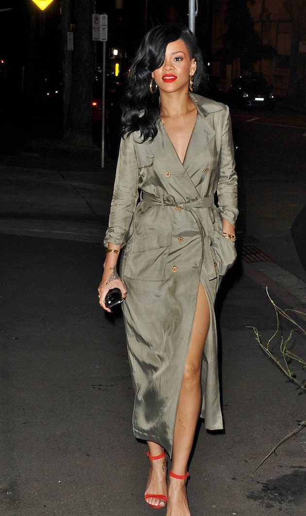 Rihanna's trench coat?