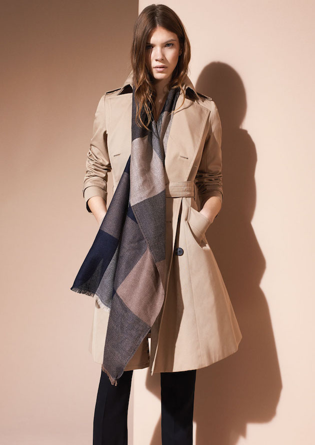 accessories trench
