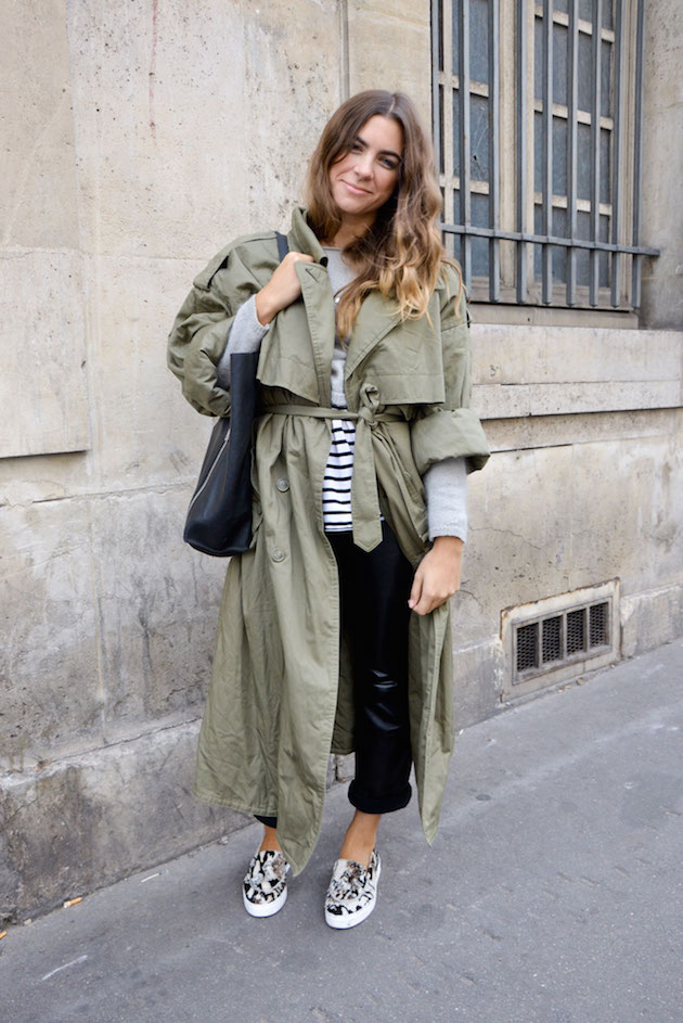 trench-stripes this fall