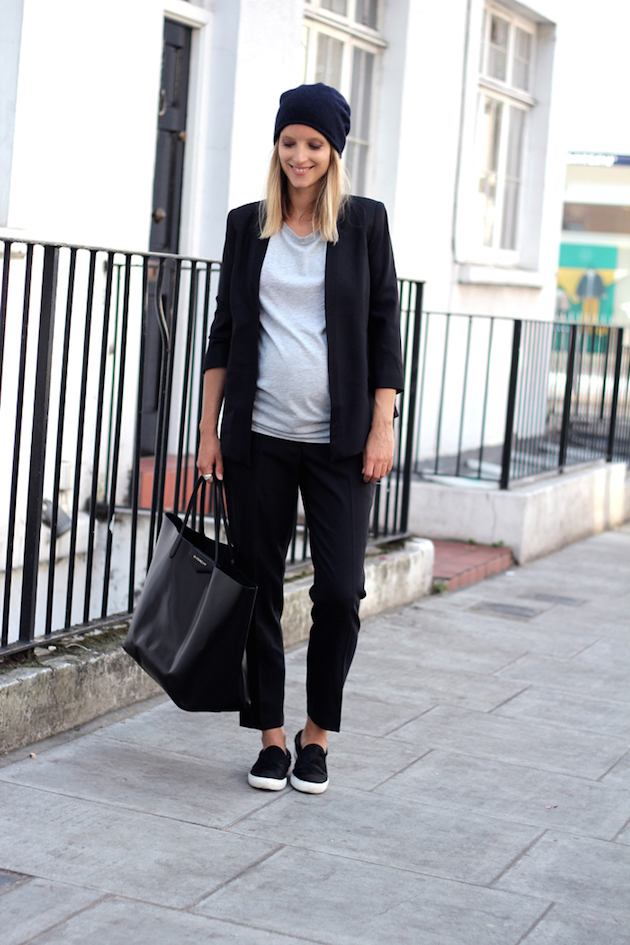 maternity wear stylish pregnant woman