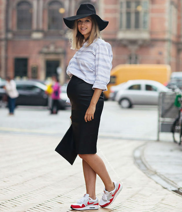 maternity wear pregnant look