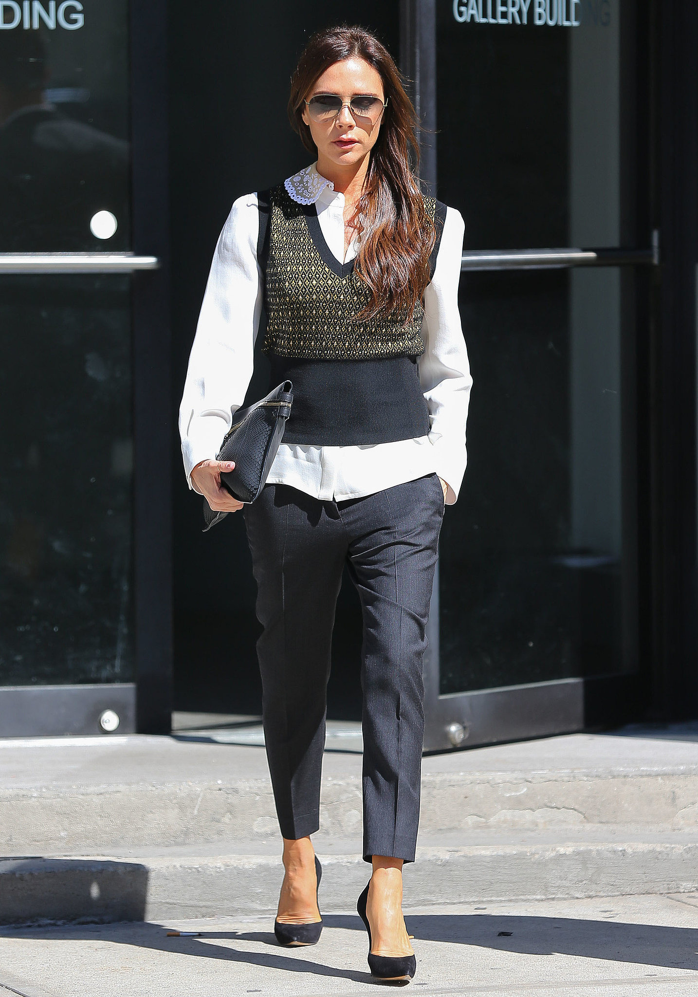 buiness style by victoria beckham