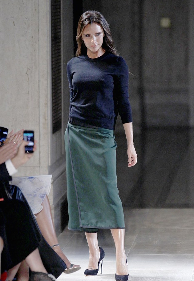 midi skirt by victoria beckham