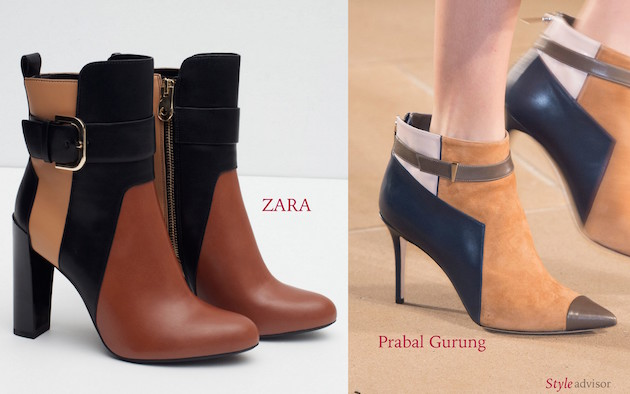 Zara boots and Prabal Gurung boots for Fall