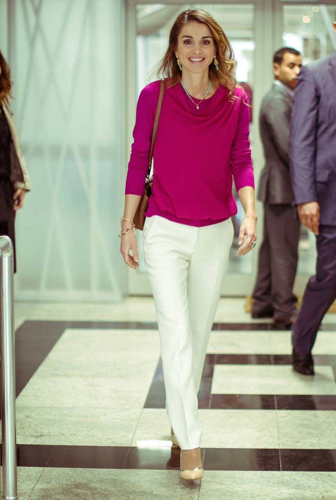 queen rania of jordan style