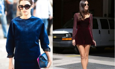 how to wear velvet