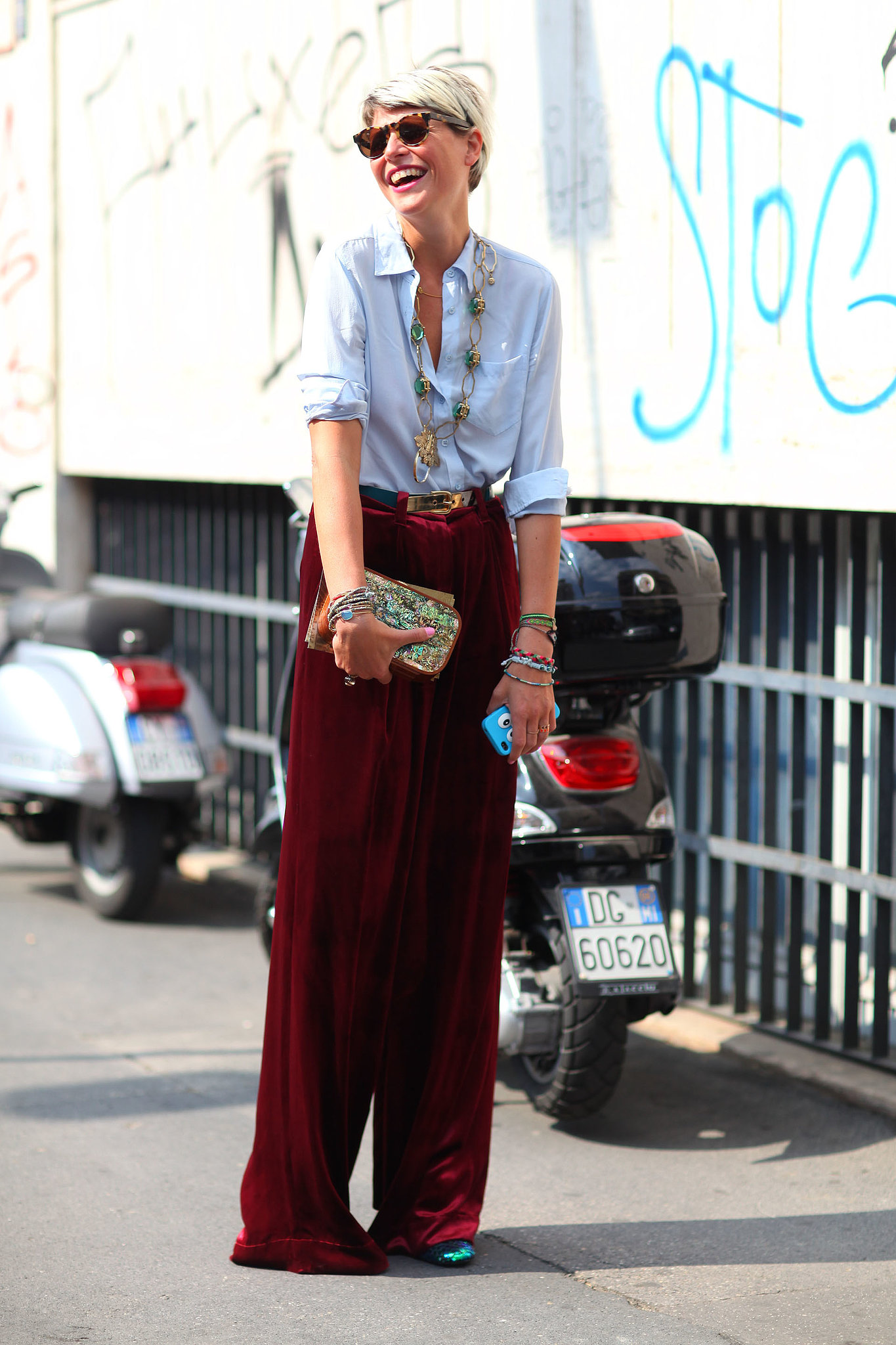 classic-button-down-wide-leg-pants-get-brightened-up