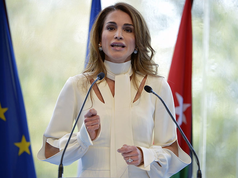 queen-rania- and style for public speaking