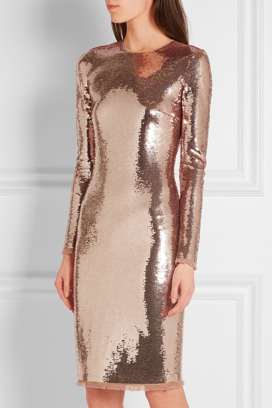 tom ford sequins dress