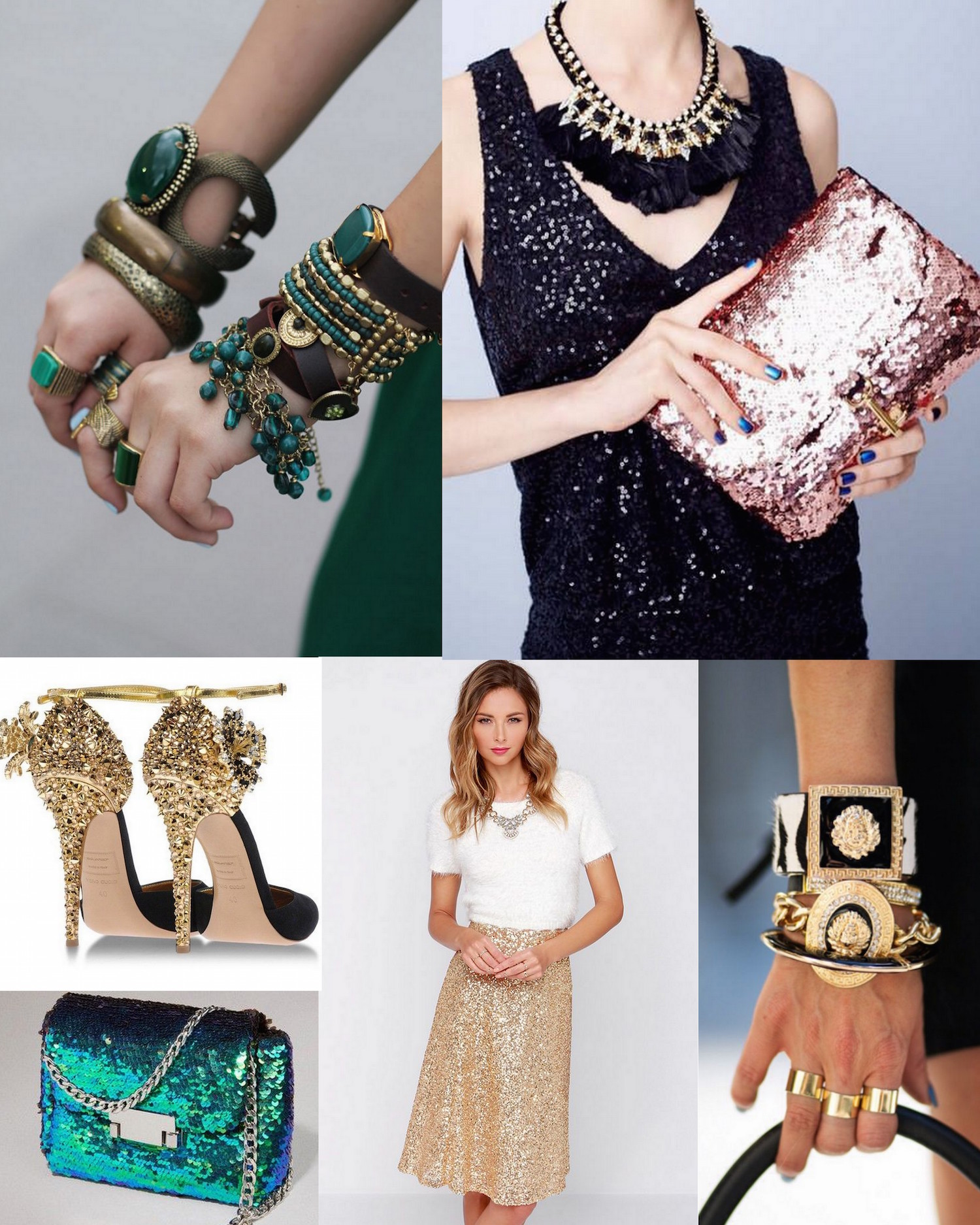 how to wear sequins for christmas