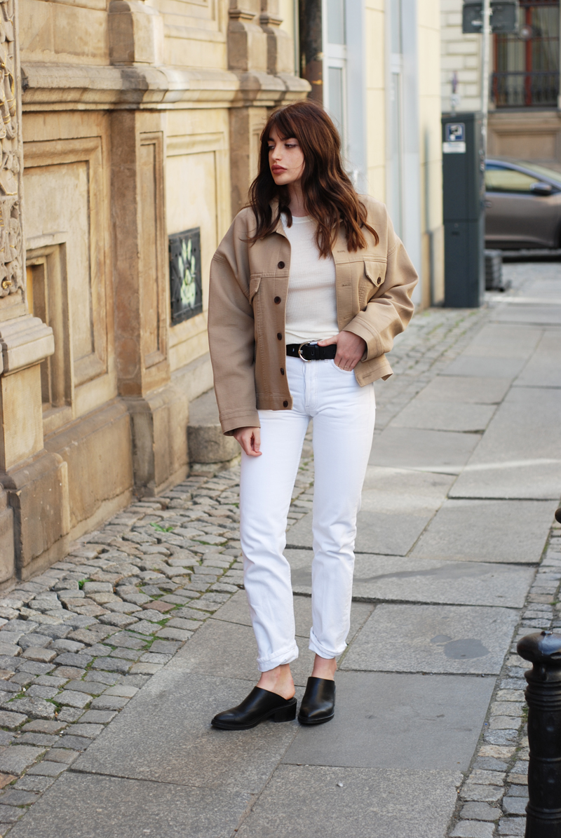 white jeans casual