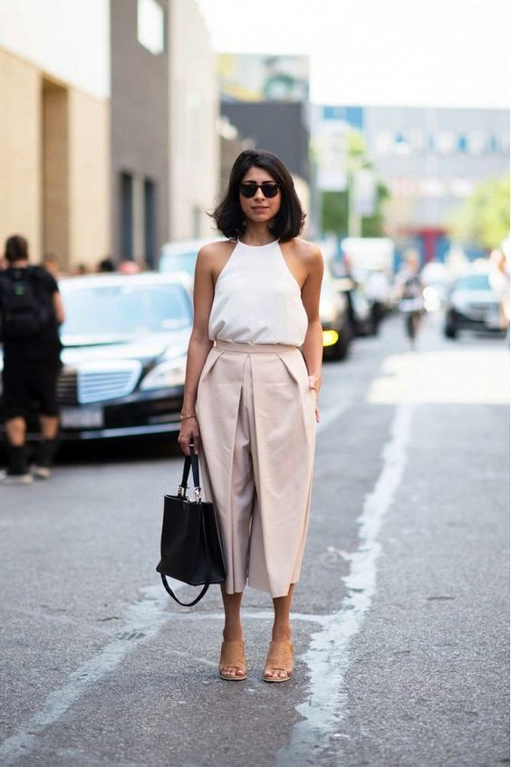 beige pants for office
